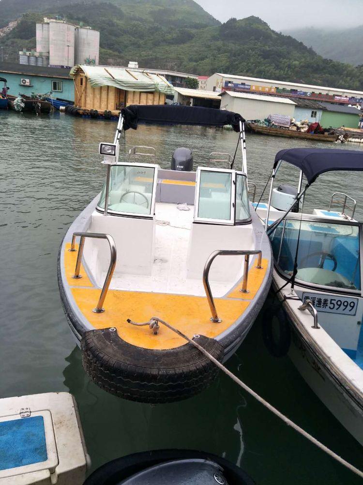 8.6米玻璃钢船
