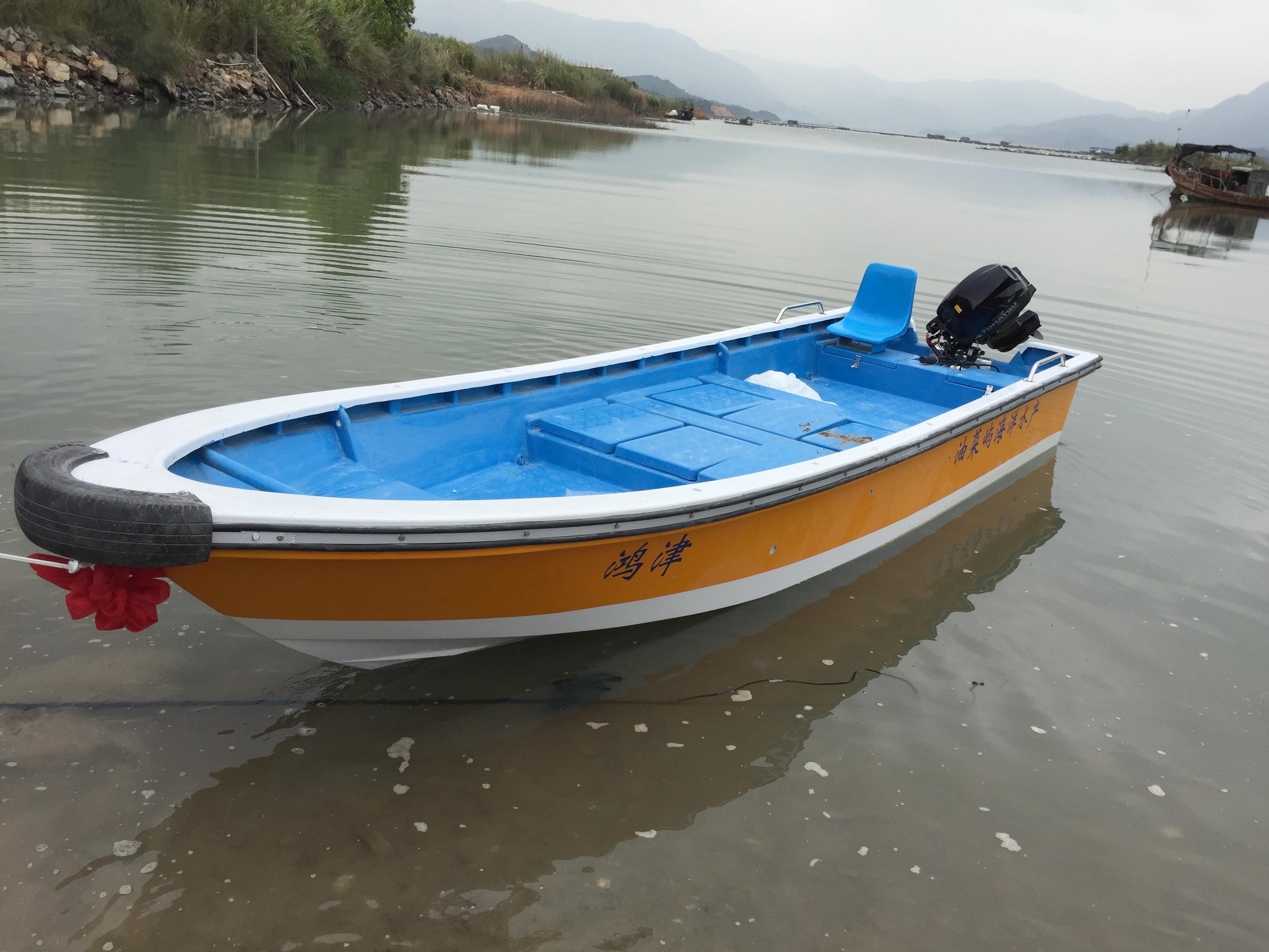玻璃钢船身自动排水