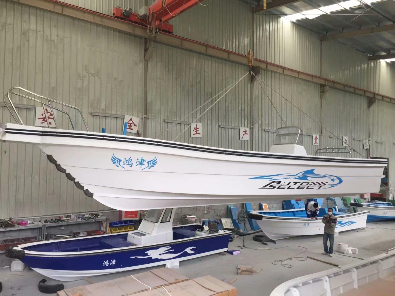抗浪型多功能艇、载客钓鱼、休闲旅游、工作艇